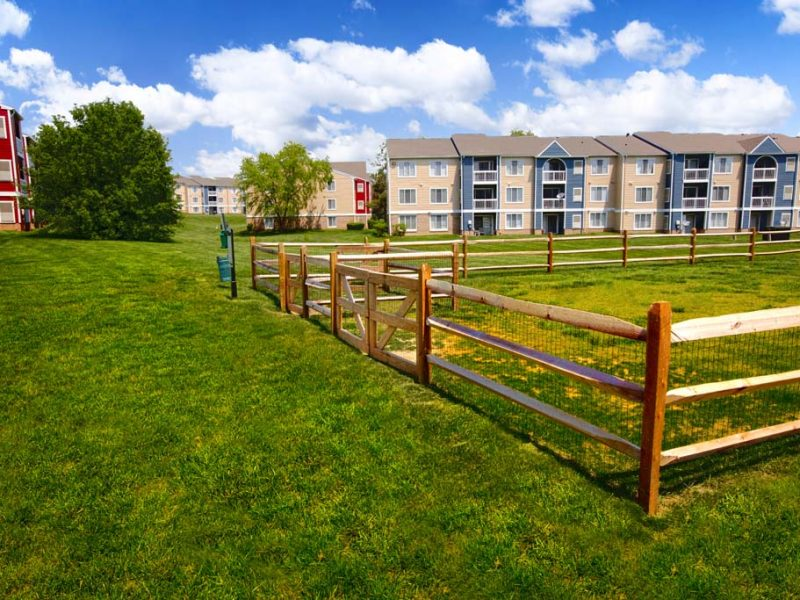 TGM Sudley Crossing Apartments Bark Park