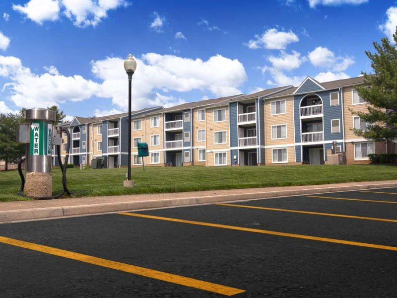 TGM Sudley Crossing Apartments Landscape view